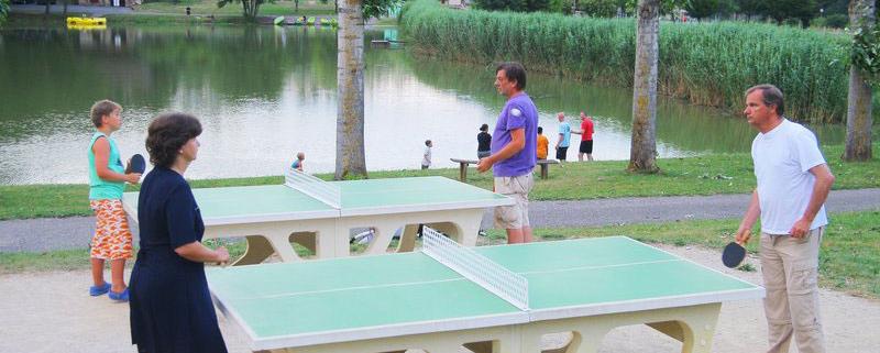 Ping-pong - Camping du Bois de Reveuge